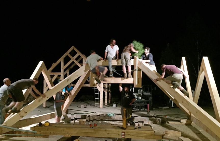 Advanced Timber Framing Workshop