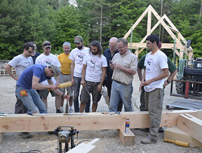 Combined Intro & Advanced Timber Framing