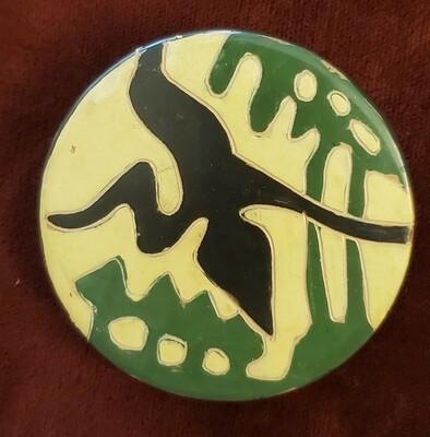 Handmade Pottery Bird in Flight