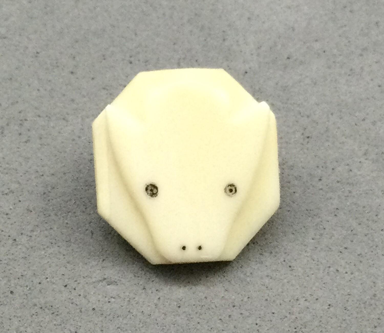 Fossilized Eskimo Ivory Polar Bear