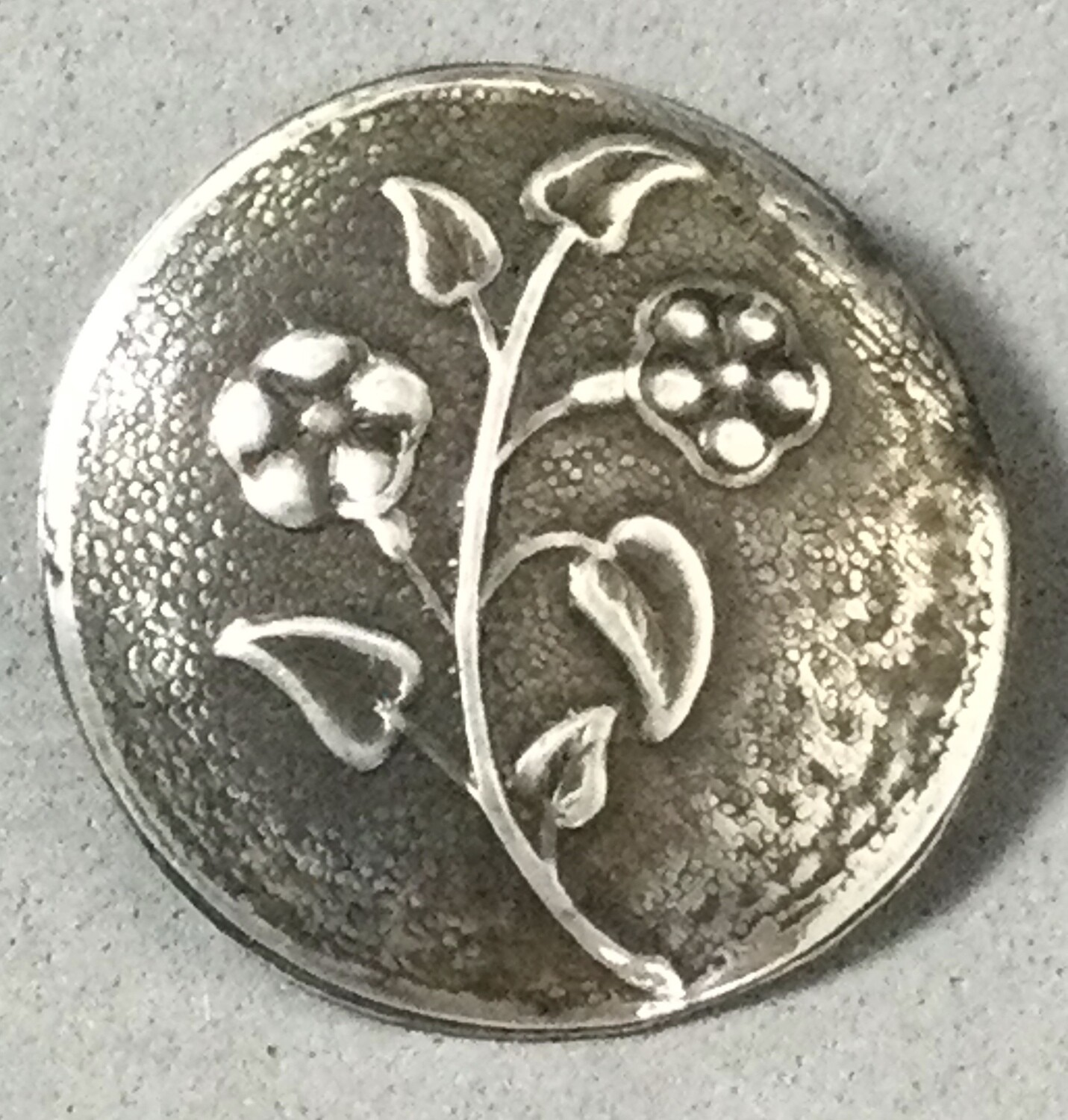 Sterling Silver Floral