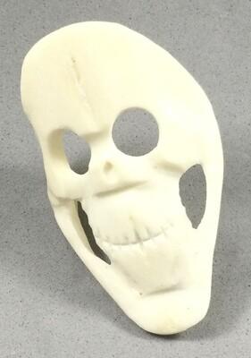 Contemporary Carved Bone Skull