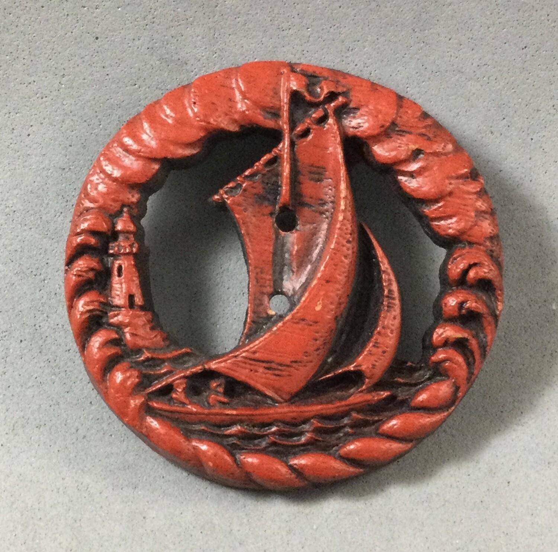Burwood Red Sailboat