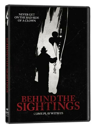 Behind The Sightings (DVD) - Preorder Ships 7/6/21