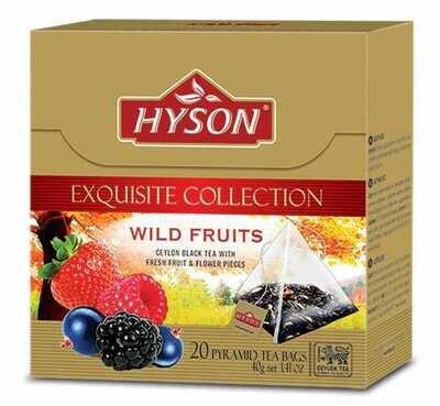 HYSON Wild Fruits 40g (20 pyramid bags)