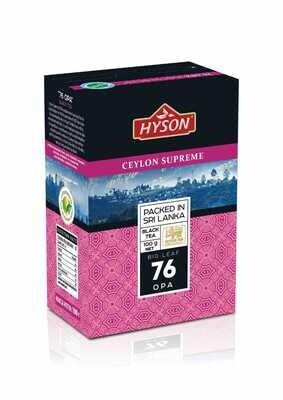 HYSON Big Leaf OPA Black Tea 100g