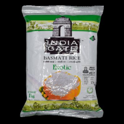 India Gate Basmati Rice Exotic 1kg