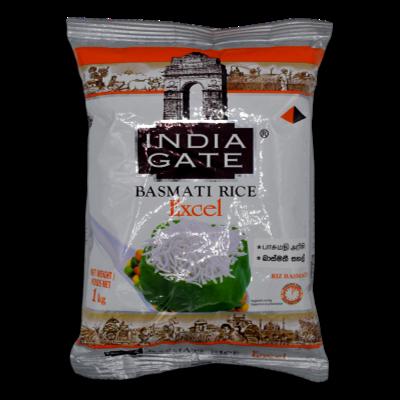 India Gate Basmati Rice Excel 1kg