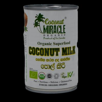 Coconut Miracle Coconut Milk 400ml