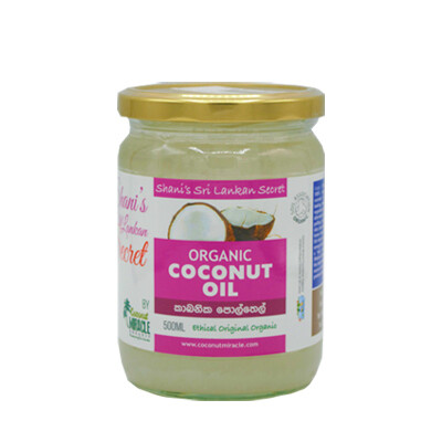 Shani's Organic Coconut Oil 500ml