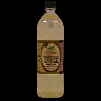 Organic Whole Kernel Coconut Oil - 1L