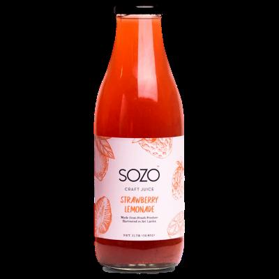 SOZO Strawberry Lemonade 1L