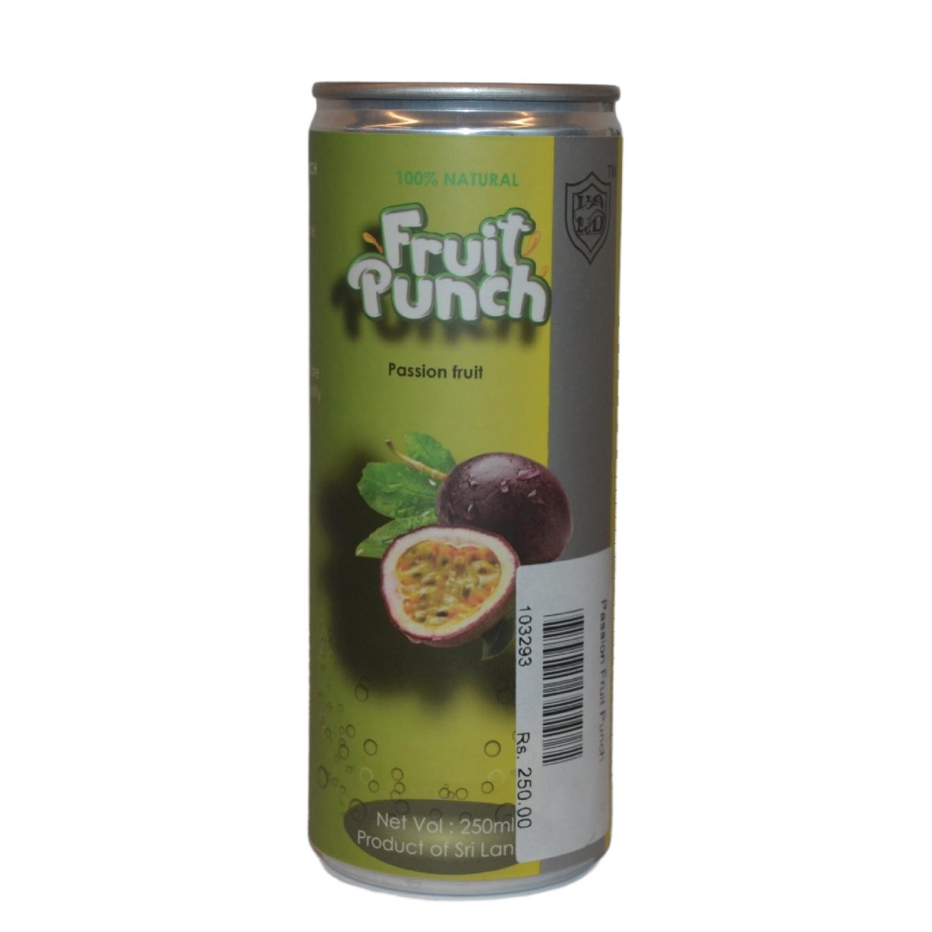 Fruit Punch Passion Fruit (Fizzy)