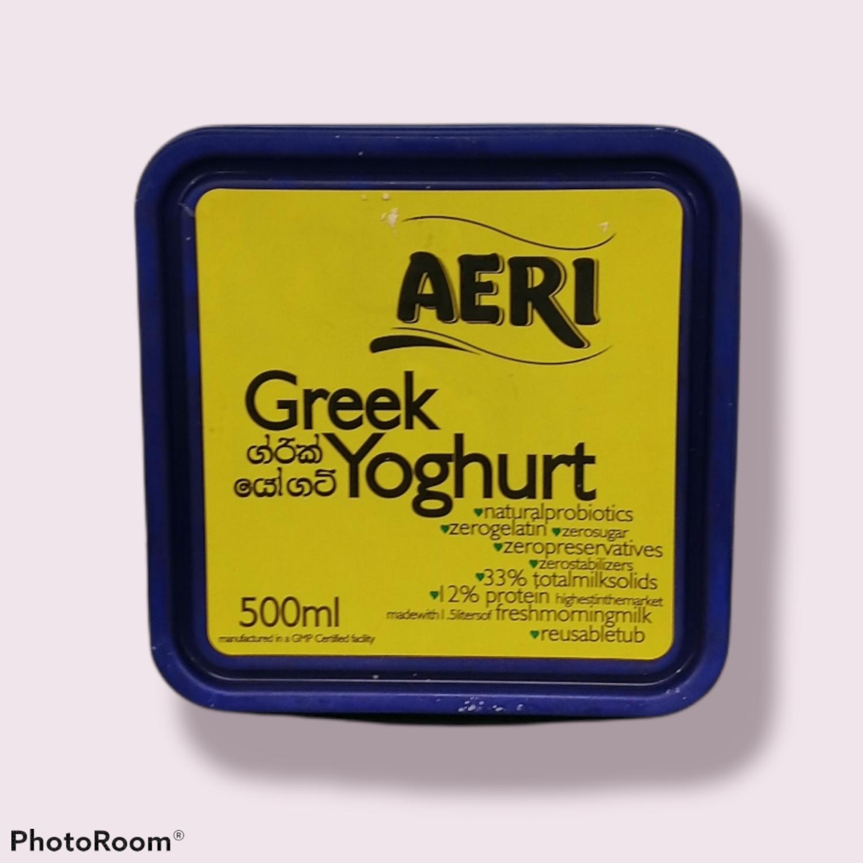 Aeri Greek Yoghurt 500ml