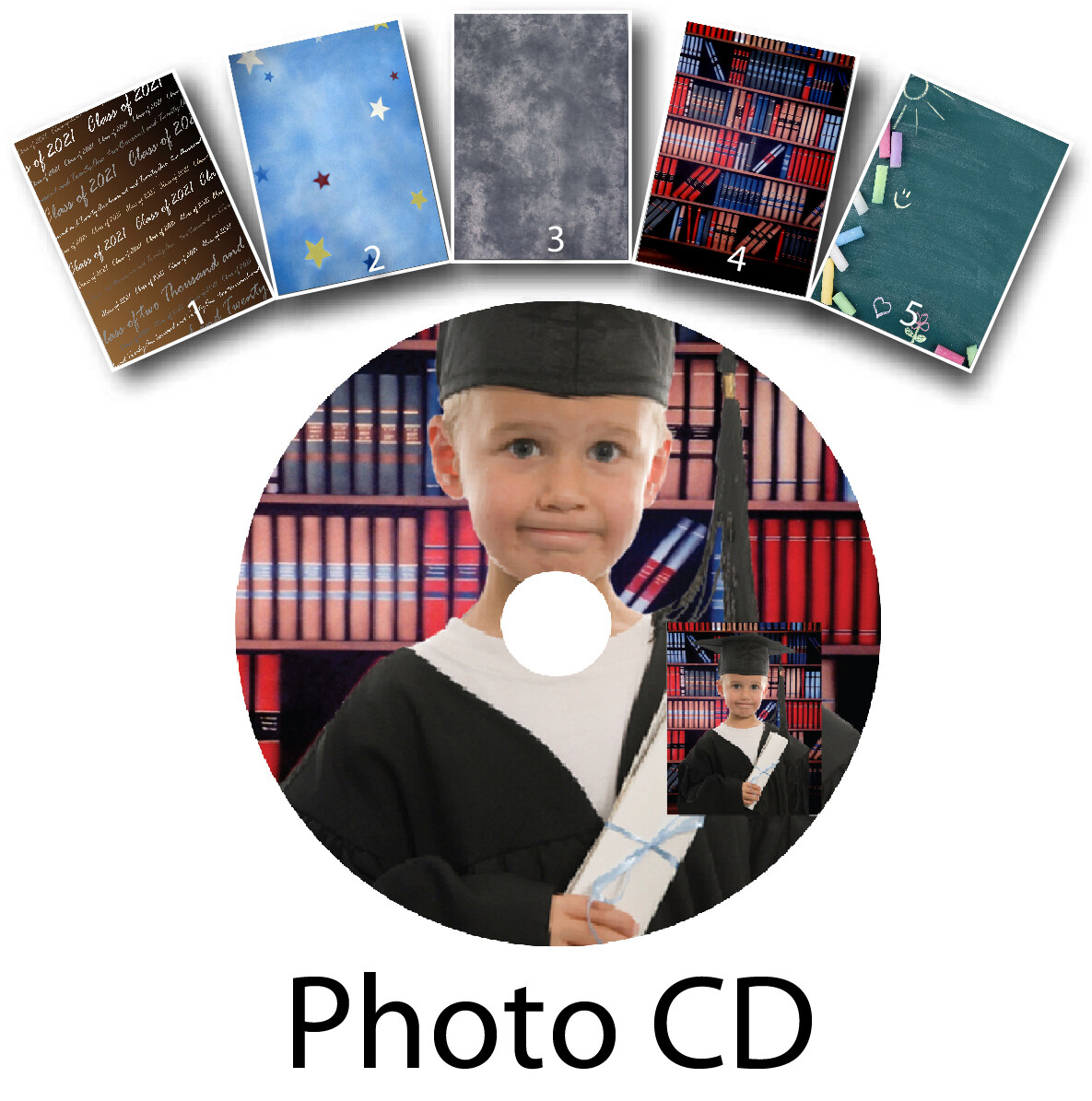 Photo CD Graduation Package