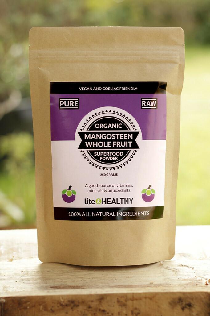Organic Mangosteen Superfood Powder