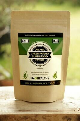 Organic Green Papaya Superfood powder