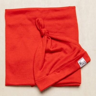 Burnt Orange Swaddle Set