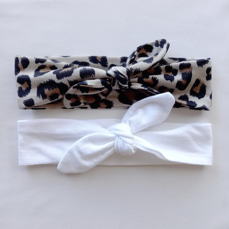 Leopard Headband Set