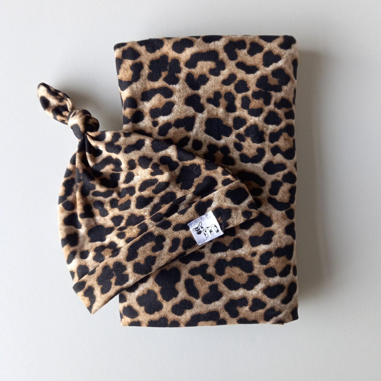 Leopard Swaddle Set