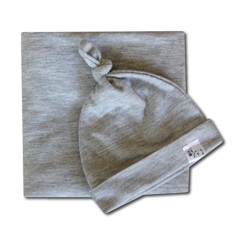 Grey Swaddle Set