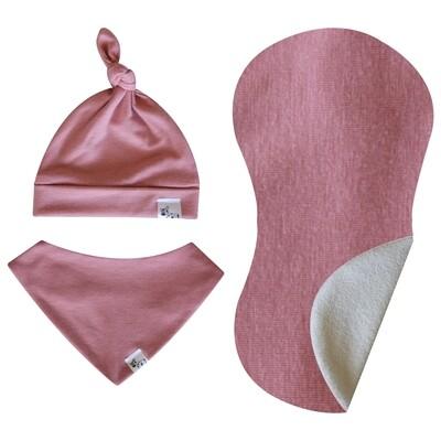 Dusty Pink Newborn Set