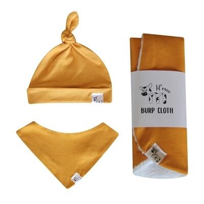 Mustard Newborn Set