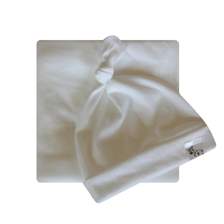 Pure White Swaddle Set