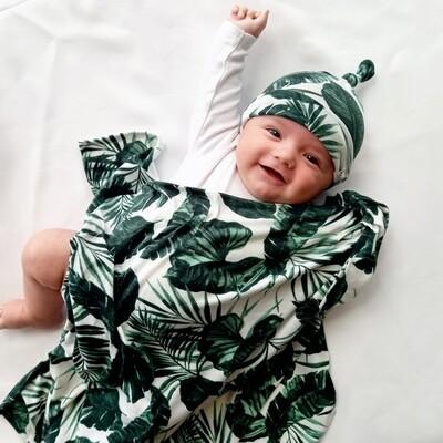 Green Leaf waddle Set