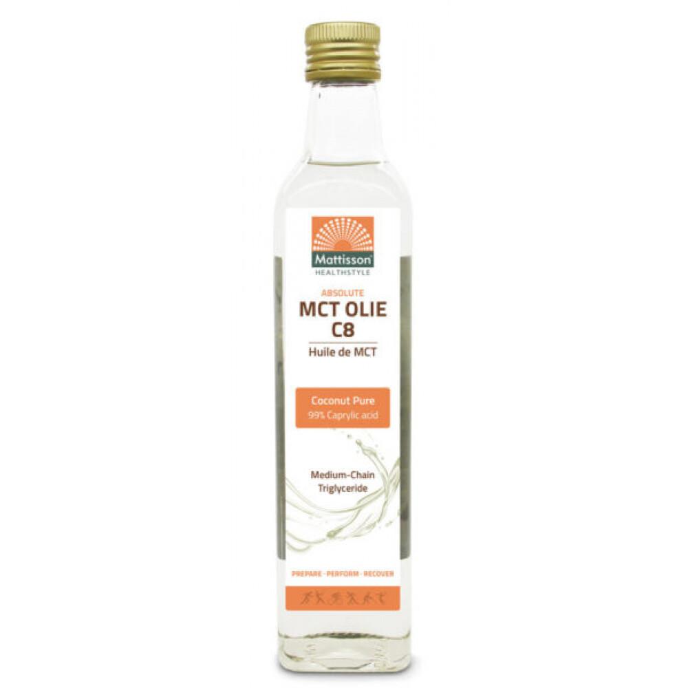 MCT-olie C8 500 ml