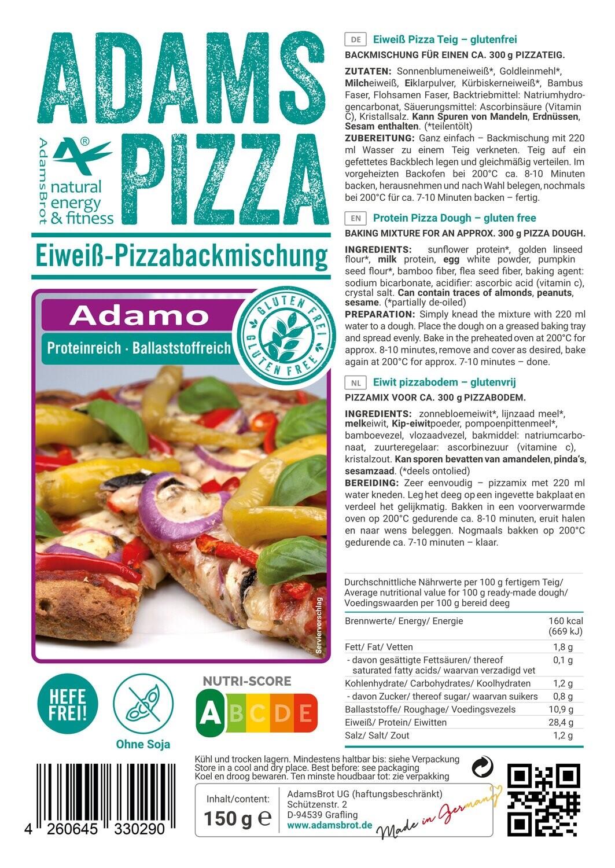 Pizzamix Adamo Adam's Brot