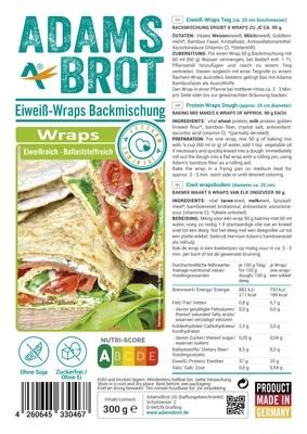 Wrap mix Adam's Brot