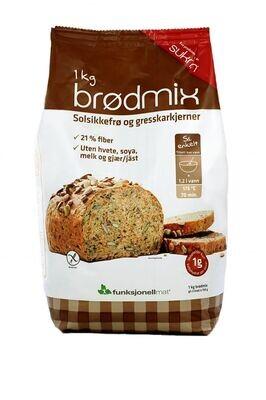 Broodmix fiberbrod Sukrin