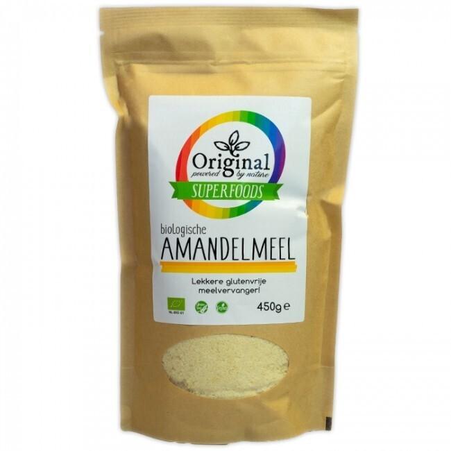 Amandelmeel, biologisch
