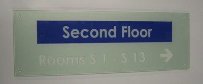 220 x 75mm Acrylic Nameplate