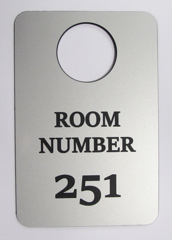 3mm engraved laminate 100 x 25mm labels ( From €4.60 each)