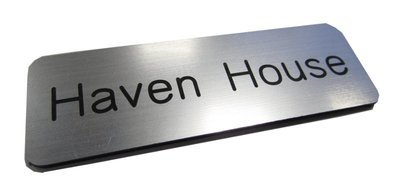 1.5mm 25 x 50mm rectangular engraved labels (€1.39 each)