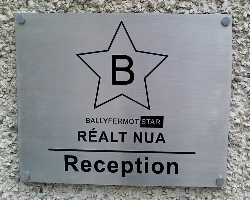 200 x 300mm Stainless Steel Nameplate