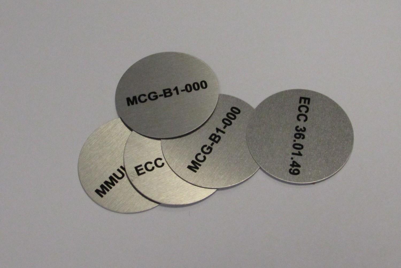50 of 90mm Radius Dye Sublimated Disc