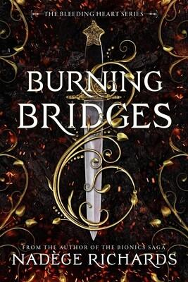 Burning Bridges Paperback (Signed)