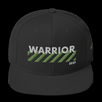Warrior Stripes Logo Snapback Hat (1250 iBucks)