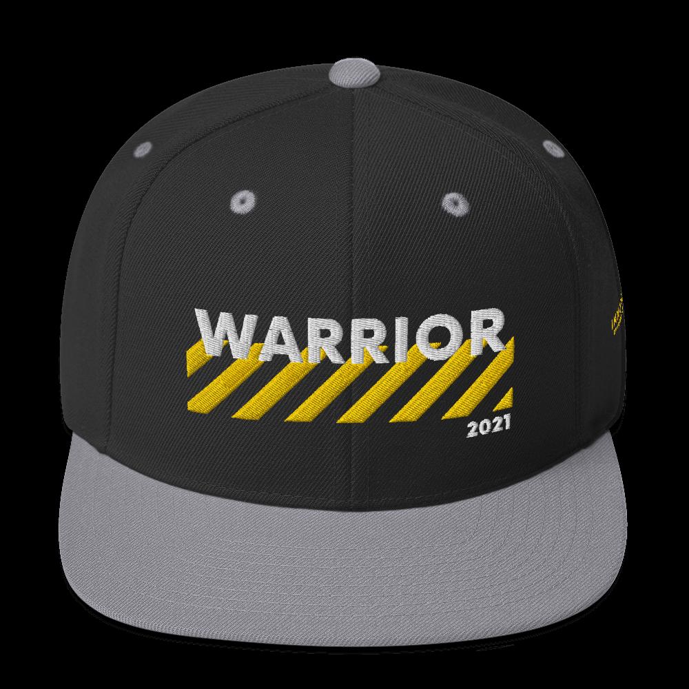 Warrior Stripes Logo Hat (Gold Edition) [Requires Attendance or GPA Achievement] (1250 iBucks)