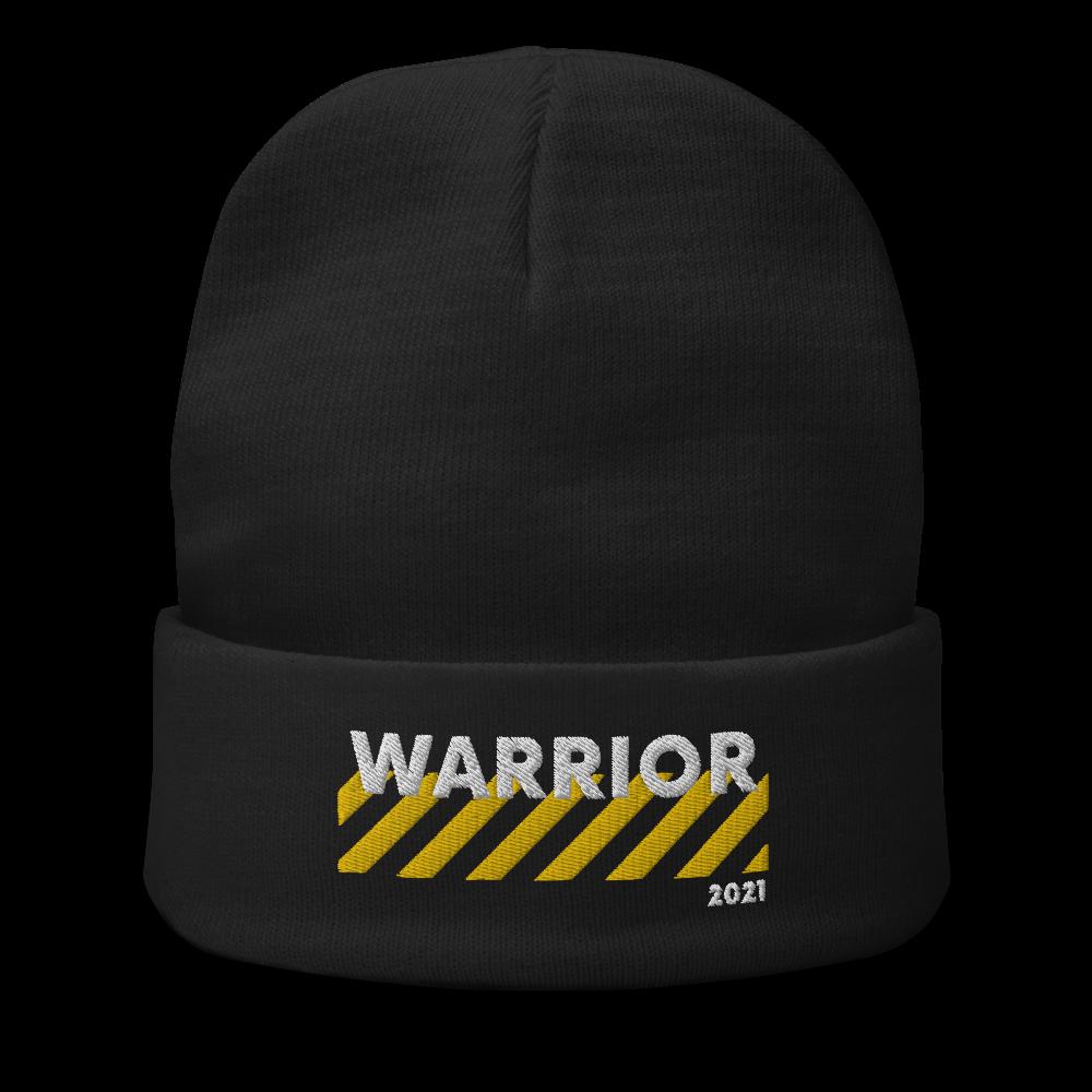 Warrior Beanie (Gold Edition) [Requires Attendance or GPA Achievement] (2000 iBucks)