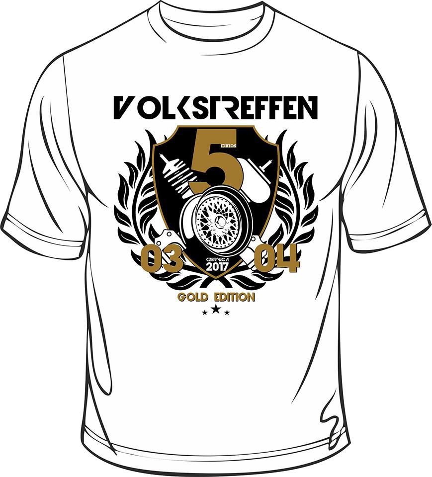 KOSZULKA Volkstreffen 2017 Gold Edition