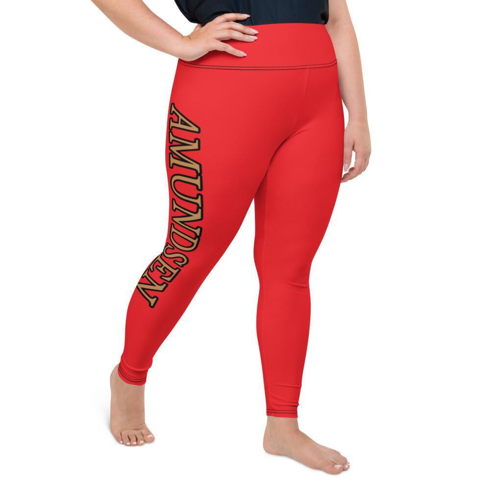 Amundsen Plus Size Leggings - Red