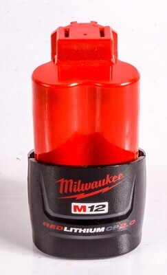 MILWAUKEE M12 RED LITHIUM CP2.0 BATTERY