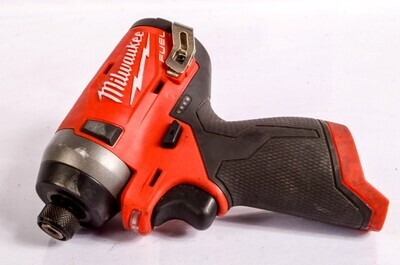Milwaukee 2553-20 M12 Fuel 1/4 inch Hex Impact Driver (Bare)