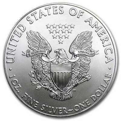 Silver American Eagle - RANDOM Year (7 Day Delay)