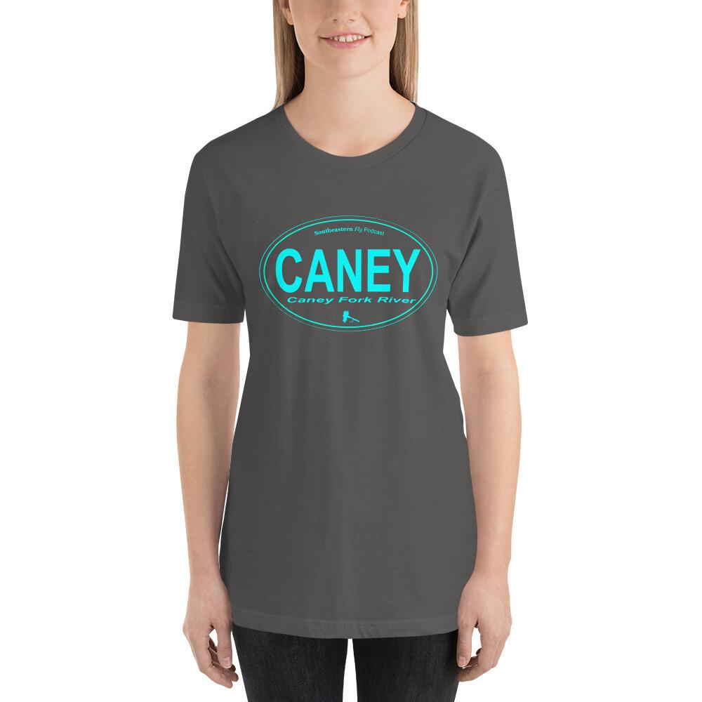 Caney Fork Oval - Short-Sleeve Unisex T-Shirt