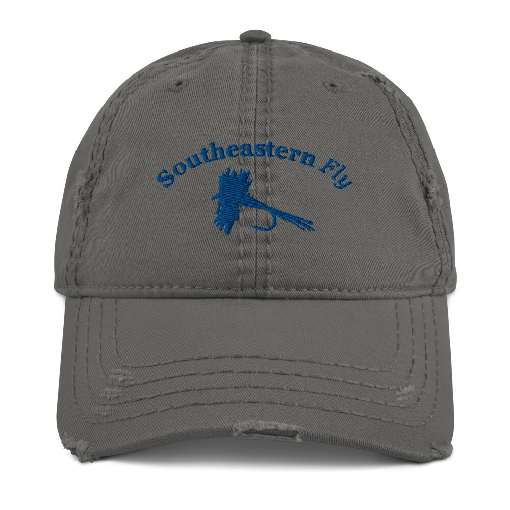 Southeastern Fly - Dry Fly - Distressed Dad Hat